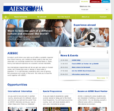 aiesec-webdesign-thumb - Nicetoclick