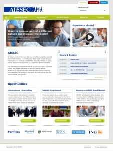 aiesec-webdesign - Nicetoclick