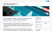 beurskoersaex-wordpress-website - Nicetoclick