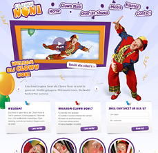 clown-noni-webdesign-thumb - Nicetoclick