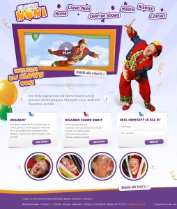 clown-noni-webdesign - Nicetoclick
