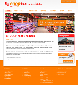 coopsupermarkt-webdesign - Nicetoclick