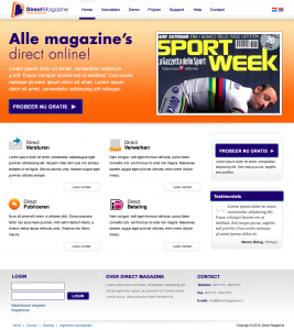 directmagazine-html-website - Nicetoclick