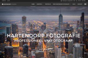 professionele fotos wordpress website