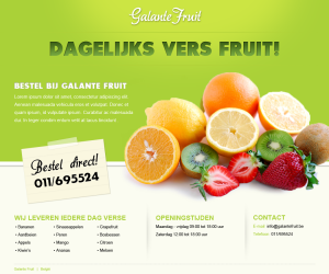 galante-fruit-webdesign - Nicetoclick