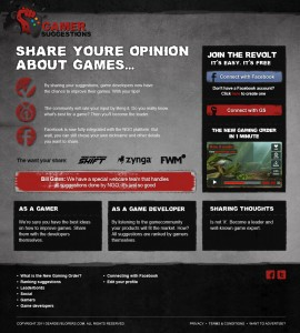 gamerssuggestions-webdesign - Nicetoclick