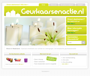 geurkaarsenactie-website - Nicetoclick