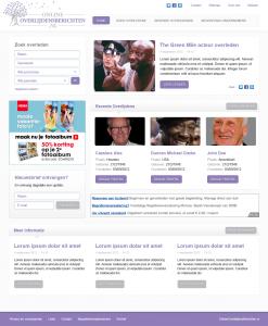 onlineoverlijdensberichten-webdesign - Nicetoclick