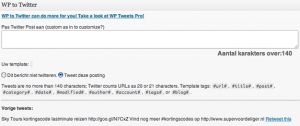 post-wp-to-twitter - Nicetoclick