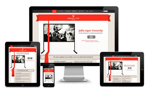 Nieuwe responsive WordPress website voor Momentsoflove - Nicetoclick