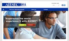webdesign-AIESEC-THUMB - Nicetoclick