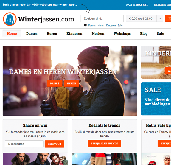 affiliate webshop WordPress