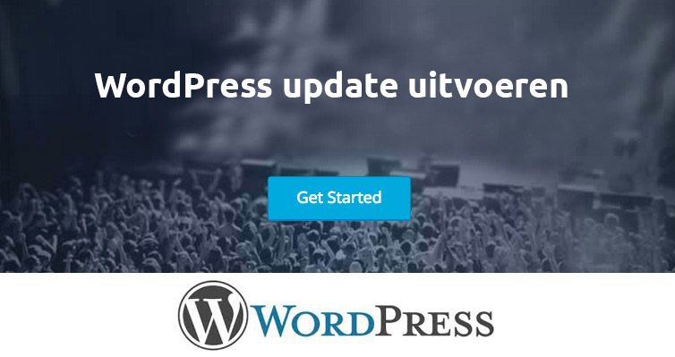 wordpress update uitvoeren